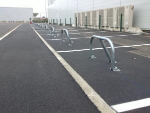 arceau de parking, barrière de parking